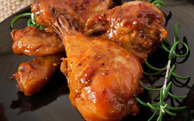 Receta de pollo para San Valentín